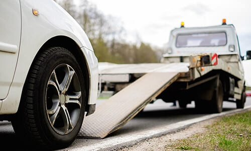 Arlington car towing services
