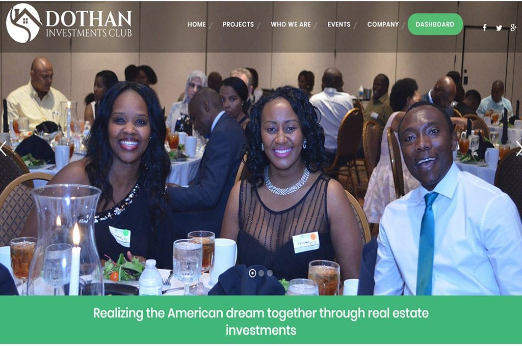 Dothan Investments website Preview