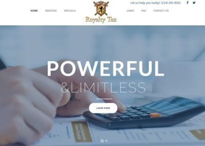 Royalty Tax and Financial Services